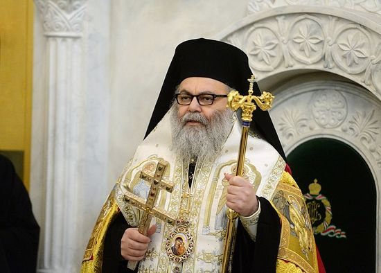 d108195207 The Patriarch of Antioch pays an official visit to Romania from September  23 to October 1