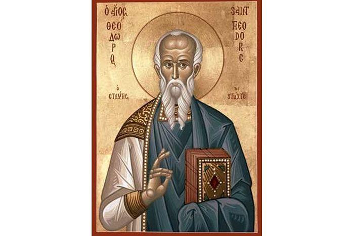 Святой Феодор Студит. Икона.