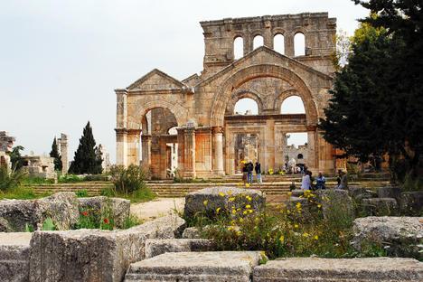 The remains of the Monastery of St. Simeon, Syria. Source: Anastasia Romanova / TASS