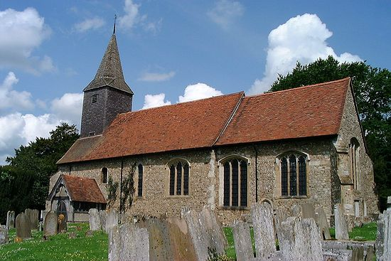 St. Mary's Church in Kemsing, Kent