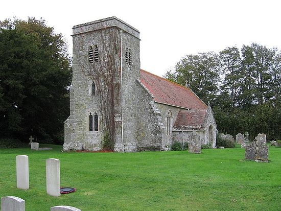 Church of St. Edith of Wilton in Baverstock, Wiltshire
