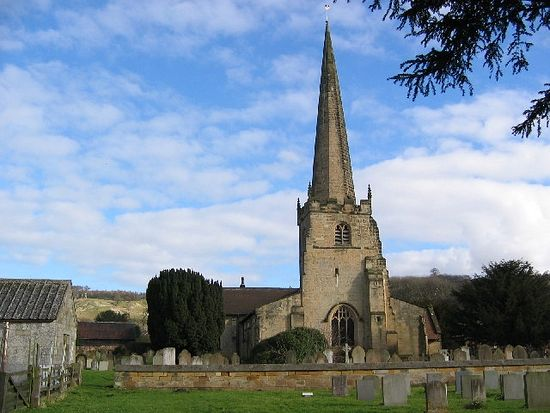 Church of St. Edith of Wilton in Bishop Wilton, East Riding of Yorkshire