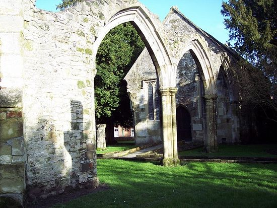 St. Mary's ruined Church in Wilton, Wiltshire