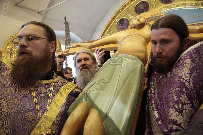 Ekaterinburg copy of the miraculous cross