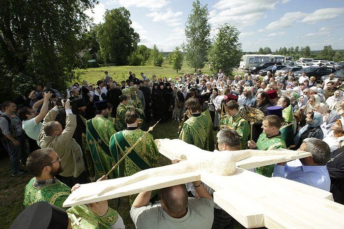 Vologda copy of the cross