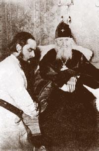 Священномученик Сергий Мечев у святителя Макария (Невского) в Николо-Угрешском монастыре