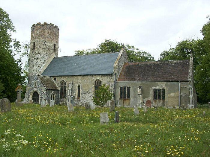 Церковь свв. Петра и Павла в Бург-Касле, Норфолк