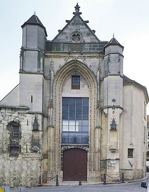 Церковь св. Фурсея в Ланьи-сюр-Марн, Франция