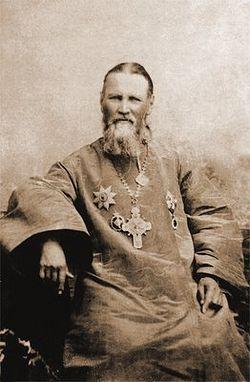 Righteous John of Kronshtadt. Photo, early 20th century.