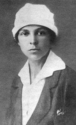 Maria Nikolayevna Sokolova,1918.