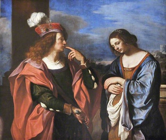 Авессалом и Фамарь. Гверчино, 1644-1666