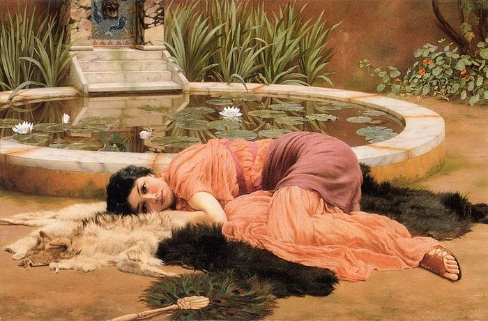 Джон Уильям Годвард, «Сладкое безделье» (1904)