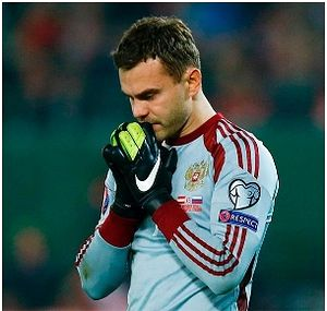 """I am Orthodox Christian. For me faith is what nourishes your life, helps you cope with anything. The main thing is to be guided by pure thoughts in all that you do."" - Igor Akinfeev, Russian football player"
