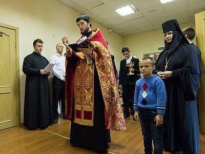 В Петербурге при Новодевичьем монастыре освящен приют для молодых матерей