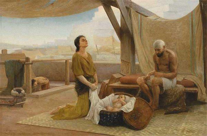 Родители Моисея. И.Аскназий. 1891г. Государственный Русский музей, СПб