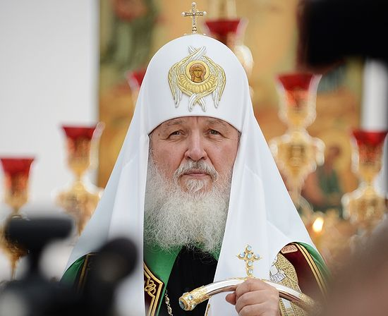 Head of the Russian Orthodox Church Patriarch Kirill. Photo: http://www.patriarchia.ru/