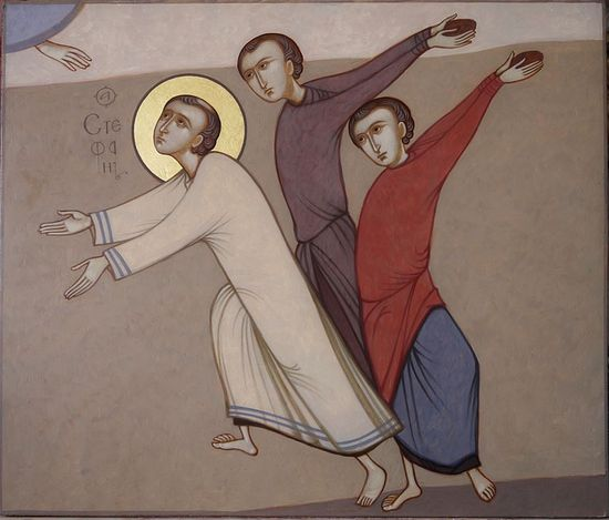 The Martyrdom of St. Stephen the Archdeacon