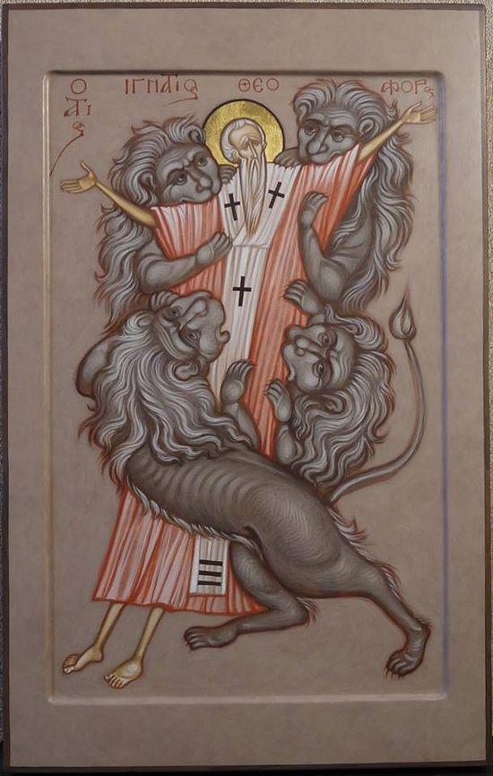The Martyrdom of St. Ignatios the God-bearer