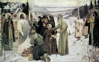 Михаил НЕСТЕРОВ (1862 — 1942). Святая Русь. 1905