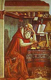 Domenico Ghirlandaio. St. Jerome