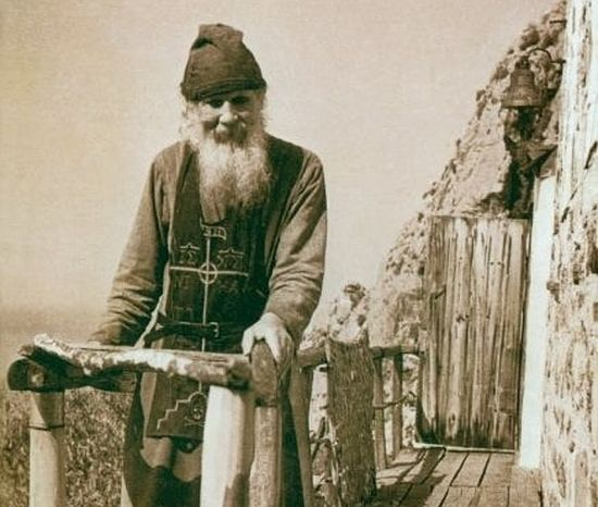 Афонский старец Феодосий (Харитонов) Карульский