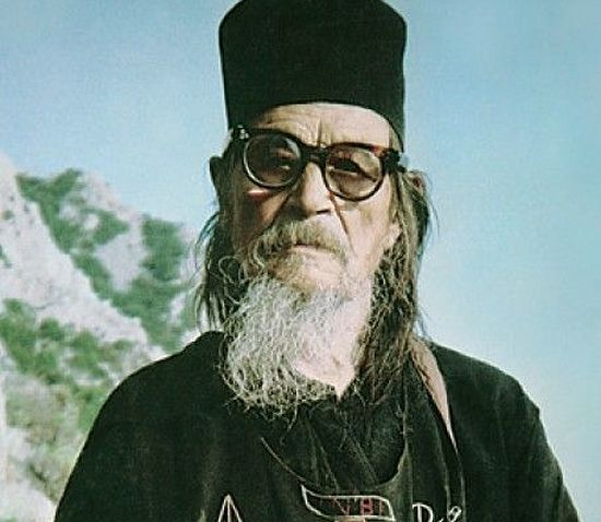 Афонский старец Никодим Карульский