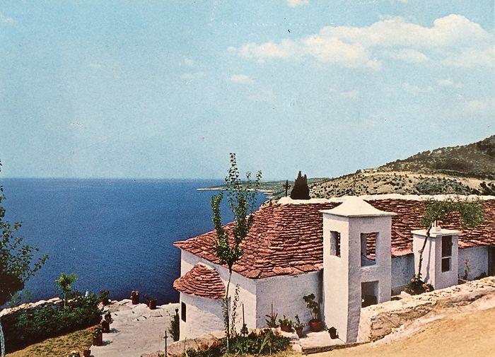 Так выглядел монастырь в 1974 году