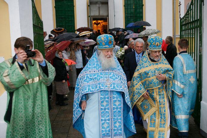 Праздник Покрова Пресвятой Богородицы в Акулово