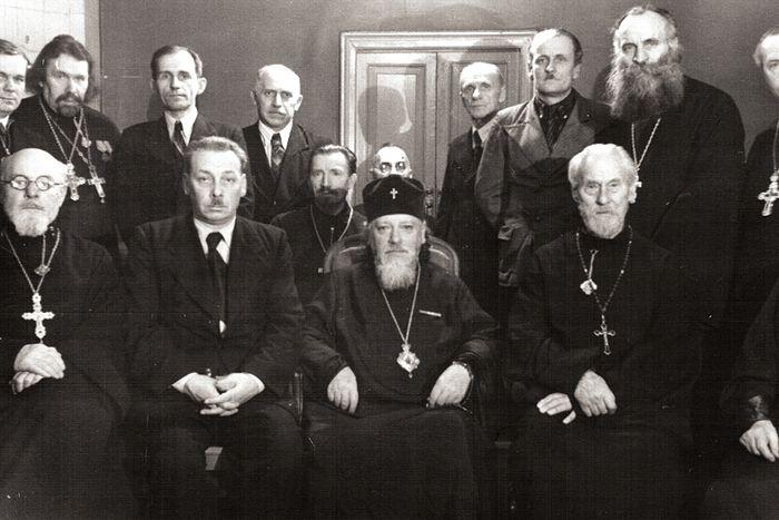 Профессора и преподаватели МДА 1946 год