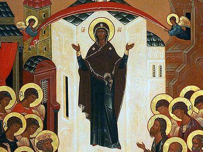 Божественная литургия в Сретенском монастыре на Покров Пресвятой Богородицы