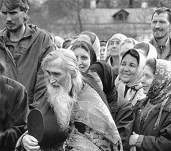 «А ведь добро то - прежде всего в вере, в благодати Божией». Фото: www.znamenye.ru
