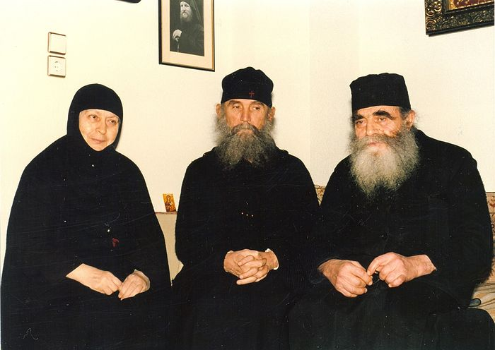 Gerontissa Macrina, Elder Ephraim, Fr. Joseph.