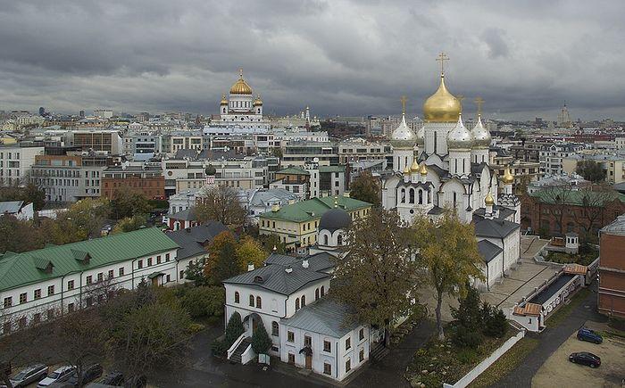 Зачатьевский монастырь. Фото В. Ходакова с официального сайта монастыря