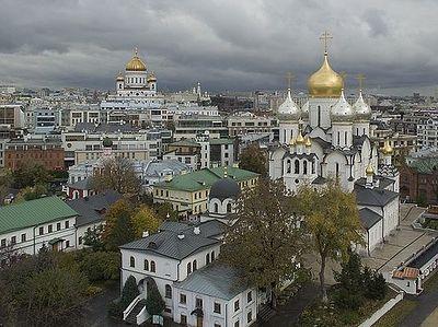 Москва: от креста ко кресту