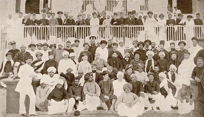 Первая сессия Индийского национального конгресса, Бомбей, 28-31 декабря 1885 г.