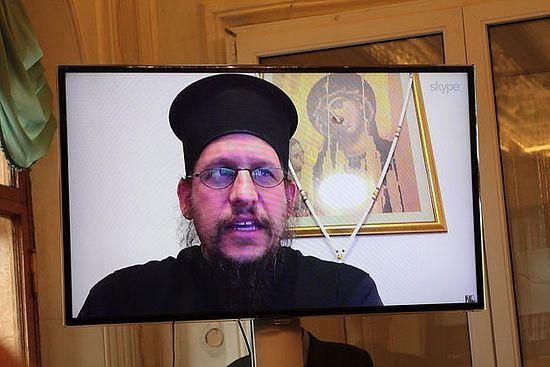 Видео-доклад о. Питера Хирса из Греции.