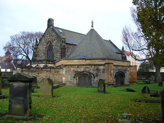 The parish Church of St. Margaret and Chapel of St. Triduana in Restalrig, Edinburgh