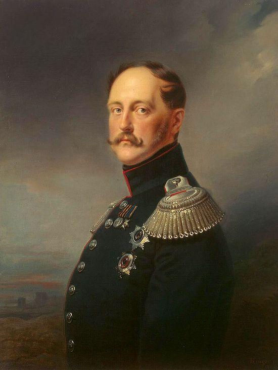 Tsar Nicholas I. Photo: https://en.wikipedia.org/wiki/Nicholas_I_of_Russia