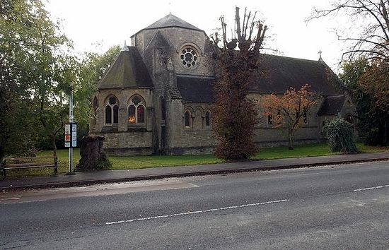 St. Frideswide's Church in Oxford (photo by Jaggery from Geograph.org.uk)