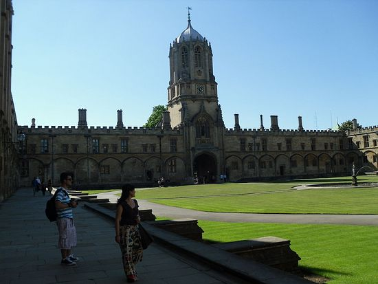 Oxford, Christ Church (photo by Irina Lapa)