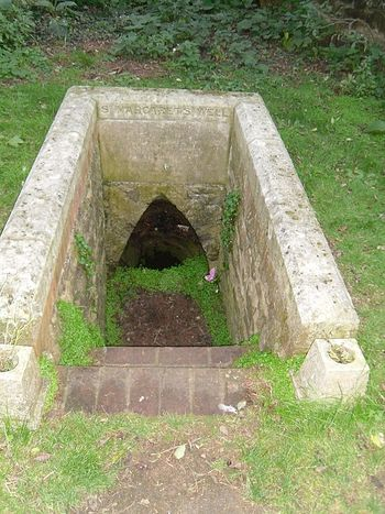 St. Margaret's holy well in Binsey, Oxon (photo by Irina Lapa)