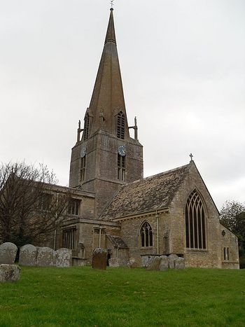 St. Mary's Church in Bampton, Oxon (photo by Irina Lapa)