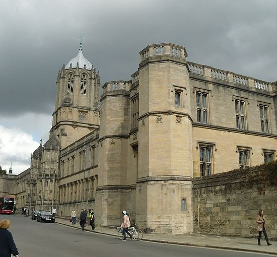 Tom Tower of Christ Church College, Oxford (photo by Irina Lapa)