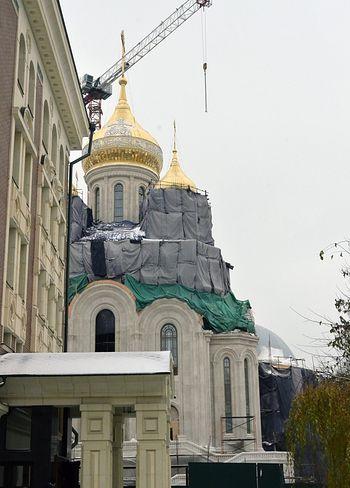 Строительство нового храма близится к завершению. Фото: Православие.ru