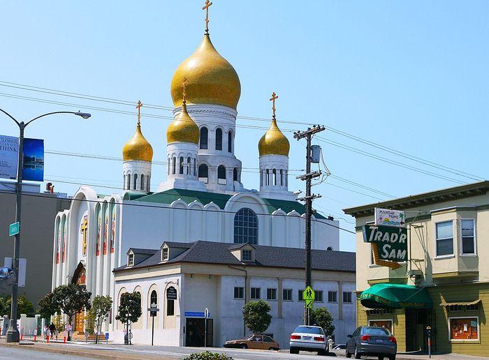 """Кафедральный собор иконы Божией Матери """"Всех скорбящих Радость"""" - Сан-Франциско, Калифорния"""