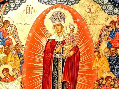 Всенощное бдение в Сретенском монастыре накануне Недели 20-й по Пятидесятнице