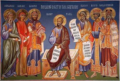 "Icon: ""Revealing Christ in the Scriptures (Fr. Ted's Blog)."