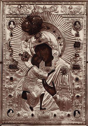 6. Подлинник Феодоровской иконы Божией Матери (Богоявленский собор, Кострома)
