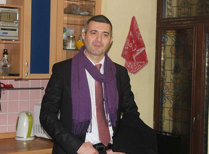Хозяин адаптационной квартиры Александр Яроцкий. Фото: Кирилл Кудрин