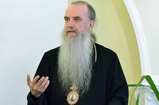 Владыка Мефодий, епископ Каменский и Алапаевский. Скриншот: youtube.com